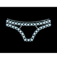 Diamond Panties vector image