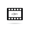 film tape action vector image vector image