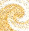 Gold glittering wave vector image