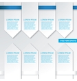Modern flat design infographics elements vector image vector image