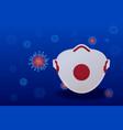 pandemic chinese coronavirus covid-19 coronavirus vector image
