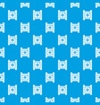 play film strip pattern seamless blue vector image vector image
