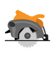 a circular saw vector image