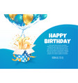 celebrating 16 th years birthday vector image vector image