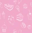 dessert vector image vector image