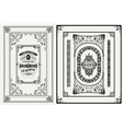 Frames and ornaments set vector image vector image