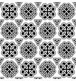 irish celtic knots seamless pattern vector image vector image