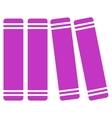 Library Books Icon vector image vector image