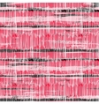Multicolor striped pattern with brushed lines vector image vector image