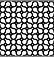 seamless geometric pattern - modern black and vector image vector image