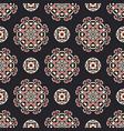 seamless pattern mandala geometric ornament vector image