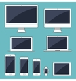 set of modern electronic vector image vector image
