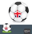 soccer euro vector image vector image