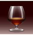 Wine Glass Isolated Transparent vector image