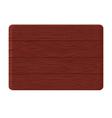 Redwood board vector image