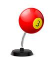 Billiards souvenir vector image vector image