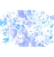 Detailed background ice fragments texture vector image vector image