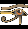 Egyptian Eye vector image vector image
