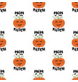 mom patch pattern halloween thanksgiving vector image vector image
