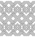 seamless linear geometric pattern vector image vector image