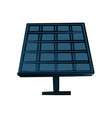 solar panel icon image vector image vector image