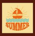 summer relax flat vector image