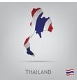 thailand vector image