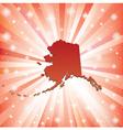 Red Alaska vector image