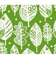 Autumn leaf seamless pattern for your design vector image