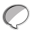 Bubble comic speakbox vector image vector image