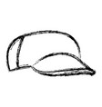 cartoon baseball cap accessory clothes vector image vector image