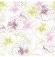 Elegance seamless pastel flower pattern
