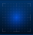 grid for futuristic hud interface vector image