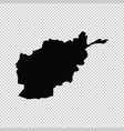 map afghanistan isolated vector image vector image