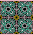 tribal and ethnic seamless pattern geometric vector image vector image