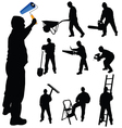 workers in various trades and tools