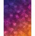 Purple Triangles vector image