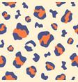 animal leopard skin texture print pattern vector image vector image