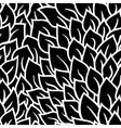 Black and white seamless pattern Graphic ornament vector image vector image