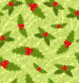 cute seamless Christmas pattern vector image