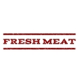 Fresh Meat Watermark Stamp vector image
