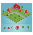 isometric neighborhood vector image