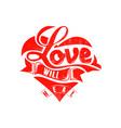 love will heal vector image vector image