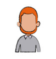 profile man male character avatar people vector image
