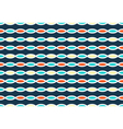 Seamless bright horizontal abstract pattern vector image vector image