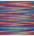 Seamless Knitted Melange Pattern vector image vector image