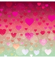 Beautiful background for Valentine s day vector image