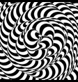 abstract striped background swirling monochrome vector image