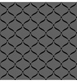 Black seamless lace pattern vector image vector image
