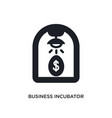 business incubator isolated icon simple element vector image vector image